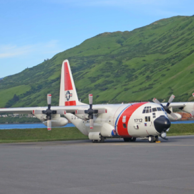 USCG service portfolio to support rescue mission