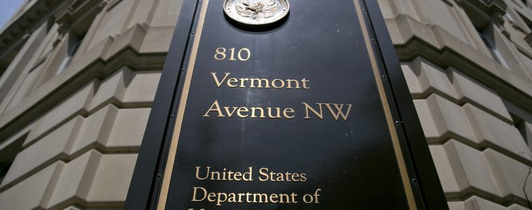 Photo of the Department of Veterans Affairs building in Washington D.C. MyVA is a customer-experience focused government service strategy.